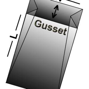 Gusseted Bags (Cases)